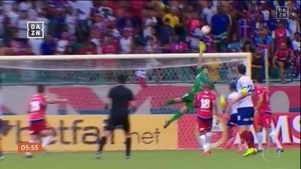 Bahia vence o Nacional por 3 a 0 pela Copa Sul-Americana