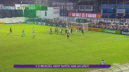 Com emoção no fim, Brusque bate o Sport e avança à segunda fase da Copa do Brasil
