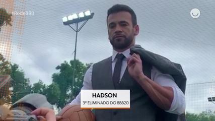 Confira os bastidores do ensaio de Hadson