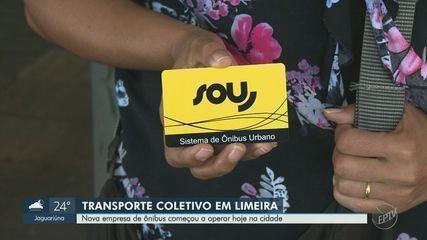Nova empresa de transporte coletivo começa a operar em Limeira