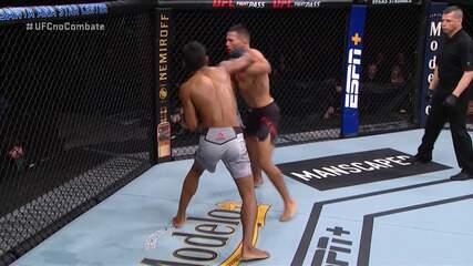 Melhores Momentos de Raulian Paiva x Mark de la Rosa pelo UFC Rio Rancho em 15/02/2020