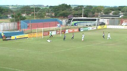 Veja os gols de Cianorte 1 x 1 PSTC pela sétima rodada do Paranaense