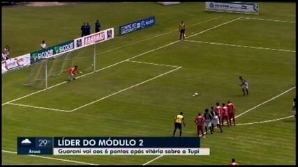 Guarani-MG vence Tupi no fim do jogo em Juiz de Fora
