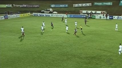 Patrocinense sai na frente, mas leva empate do Cruzeiro no fim