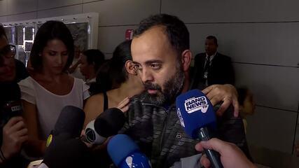 Giliard do Nascimento é um dos passageiros do voo, e diz que passou frio e fome nos EUA
