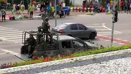 Exército vai manda mais homens para reforçar a segurança no Ceará