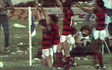 Os gols de Flamengo 3 x 2 Atlético-MG, pela final do Brasileirão 1980