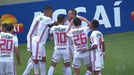 Alexandre Pato desencanta, e São Paulo goleia o Oeste pelo Campeonato Paulista