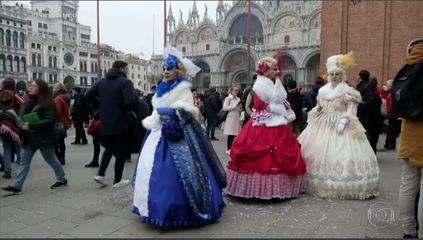 Itália cancela carnaval de Veneza para conter avanço do novo coronavírus