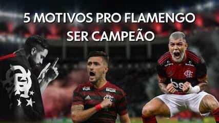 5 motivos para acreditar no título do Flamengo na Recopa