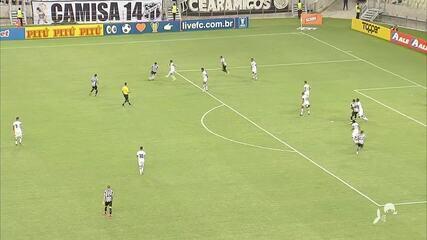 Pela copa do Nordeste, Ceará empata em 2 a 2 com o Botafogo-PB