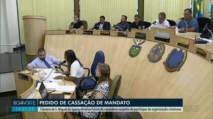 Pedido de cassação do mandato da vereadora Flávia Dartora