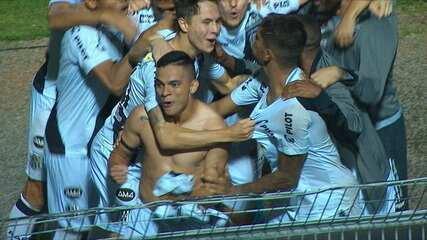 Os pênaltis de Ponte Preta 0 (5) x (3) 0 Vila Nova-GO pela Copa do Brasil 2020