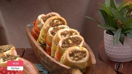 Sanduíche Buraco Quente e Frango Crocante do Chef Ravioli