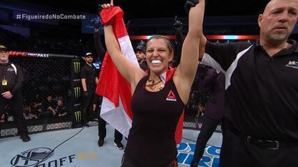 Melhores momentos de Felicia Spencer x Zarah Fairn dos Santos no UFC Norfolk