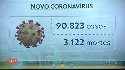 Mais dez países confirmam a chegada do novo coronavírus nas últimas 24 horas