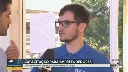 USP abre inscrições para curso gratuito de empreendedorismo em Ribeirão Preto