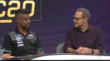 Léo Moura participa do Seleção SporTV