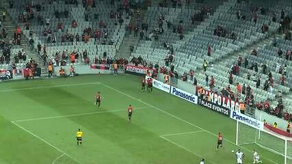 Veja o gol de Athletico 1x0 Rio Branco-PR, pela décima rodada do Campeonato Paranaense