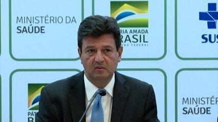 Brasil tem 531 casos suspeitos e três confirmados de coronavírus