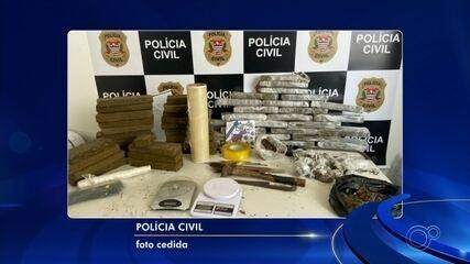 Mais de 30 quilos de maconha são apreendidos dentro de casa em Várzea Paulista