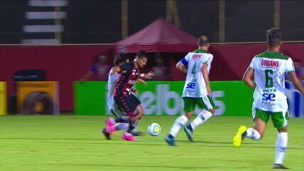 Melhores momentos de Vitória 3 x 1 Lagarto pela segunda fase da Copa do brasil 2020