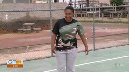 Técnica do Atrás da Banca é a única mulher a comandar um time do aberto da Copa TV GR