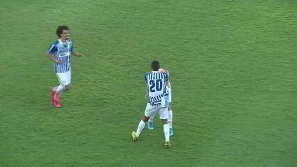Assista aos gols de Avaí 2 x 1 Juventus-SC