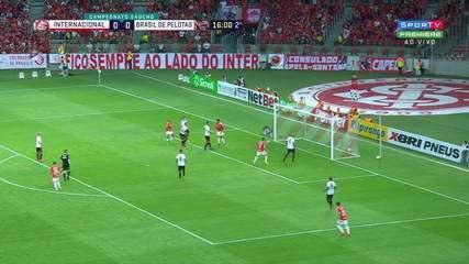 Confira os melhores momentos entre Inter 2x0 Brasil de Pelotas