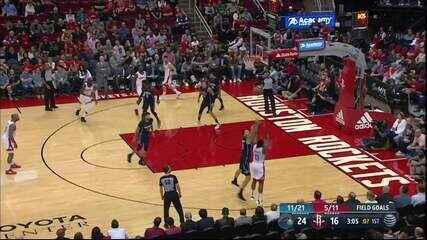 Melhores Momentos: Orlando Magic 126 x 106 Houston Rockets