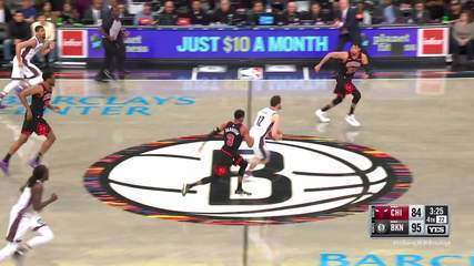 Melhores Momentos: Brooklyn Nets 110 x 107 Chicago Bulls