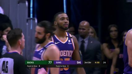Melhores Momentos: Phoenix Suns 140 X 131 Milwaukee Bucks