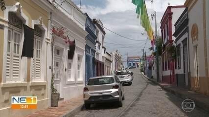 Moradores do Sítio Histórico de Olinda fazem protesto contra desorganização do carnaval