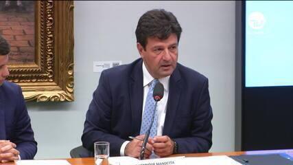 Ministro da Saúde, Luiz Henrique Mandetta: 'Na prática, anúncio de pandemia não muda nada'