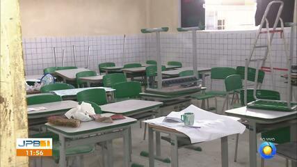 Denúncia de falta de estrutura em escolas de Alhandra, na Paraíba