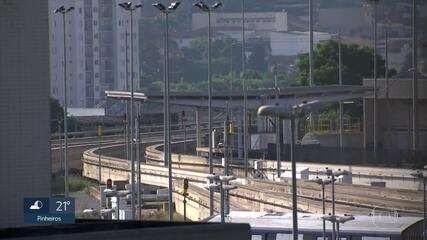 Linha-15 Prata está parada há 12 dias