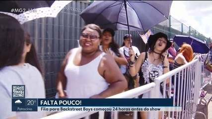 Fãs já começam a entrar no Sabiazianho para show do Backstreet Boys em Uberlândia