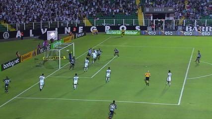 O gol de Figueirense 1 x 0 Fluminense, pela 3ª fase da Copa do Brasil