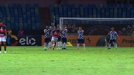 Os melhores momentos de Atlético-GO 2x0 São José-RS pela Copa do Brasil