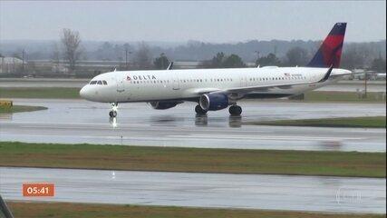 Setor da aviação sofre com a pandemia do novo coronavírus