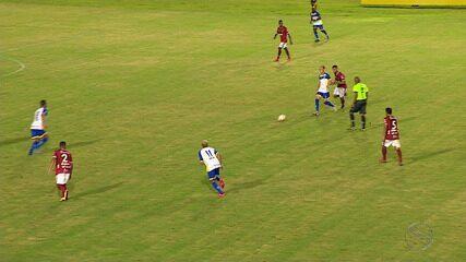 Sergipe e Freipaulistano ficam no empate em 1 a 1
