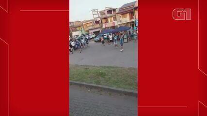 Torcedor é atropelado pela cavalaria da polícia antes do Gre-Nal