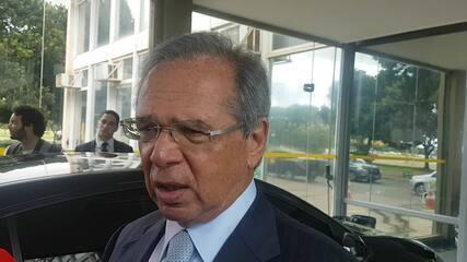 O ministro da Economia, Paulo Guedes, diz que o governo prepara medidas contra crise do coronavírus