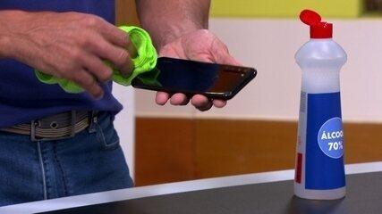 Dica do Bem Estar: como limpar o celular para a prevenção ao novo coronavirus