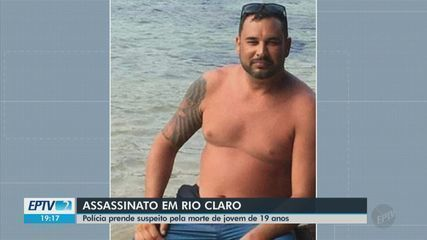 Polícia prende suspeito pela morte de jovem de 19 anos em Rio Claro