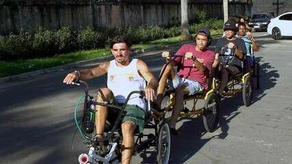 Em Movimento: Triciclo Praiano!