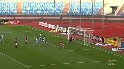 Com portões fechados, Atlético-GO e Vila Nova vencem; veja os gols