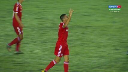 Gol do Inter! Thiago Galhardo marca o quarto gol Colorado, aos 37' do 2T