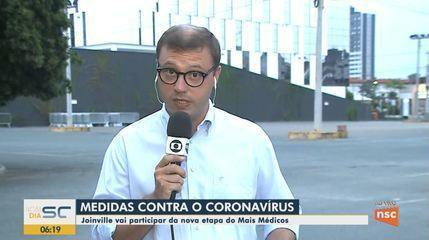 Cidades do Norte de SC adotam medidas para conter o coronavírus