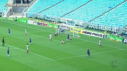 Grêmio vence o São Luiz em jogo sem torcida